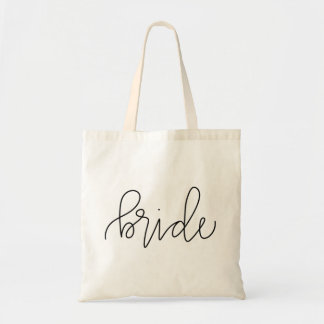 Het Canvas tas van de Bruid van de kalligrafie