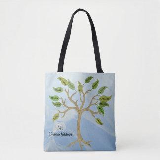 Het Canvas tas van de Douane van de Stamboom van