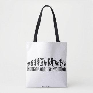 Het Canvas tas van de Evolutie van Darwin