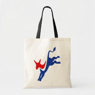 Het Canvas tas van de Ezel van de democraat