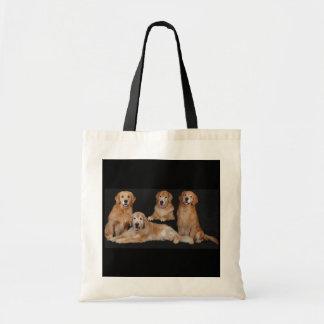 Het Canvas tas van de Familie van het golden