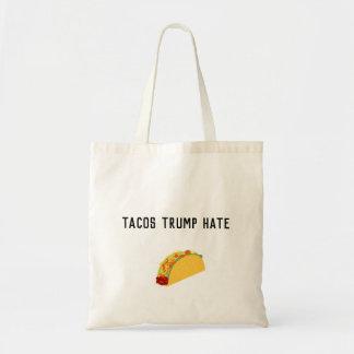 Het Canvas tas van de Haat van de Troef van taco's