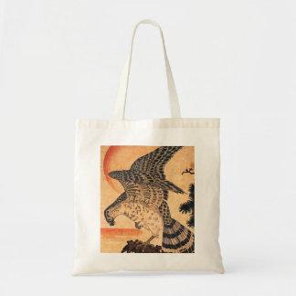 Het Canvas tas van de Havik van Kuniyoshi