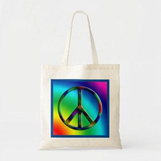 Het Canvas tas van de Hippie van het Teken van de
