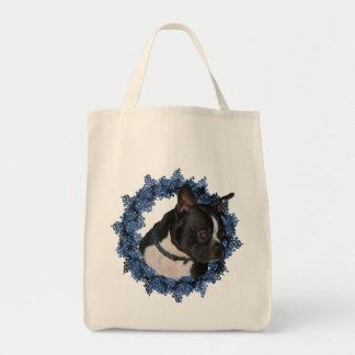 Het Canvas tas van de Hond van Boston Terrier