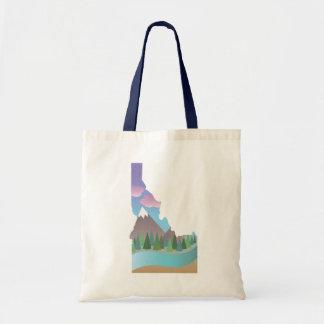 Het Canvas tas van de Illustratie van Idaho