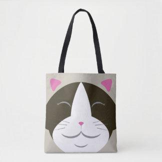 Het Canvas tas van de Kat van Ragdoll