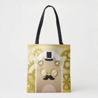 Het Canvas tas van de Kat van Steampunk