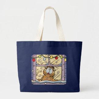 Het Canvas tas van de Kerstavond van Garfield