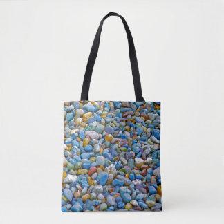 Het Canvas tas van de Kiezelstenen van het strand