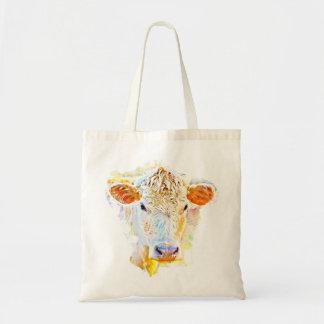 Het Canvas tas van de koe