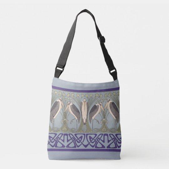 Het Canvas tas van de Kraan van de Jugendstil