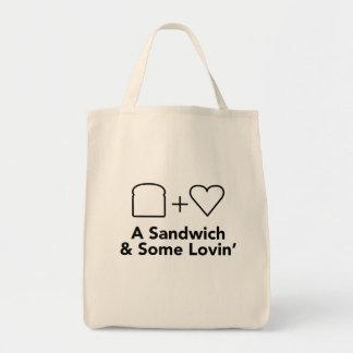 Het Canvas tas van de kruidenierswinkel