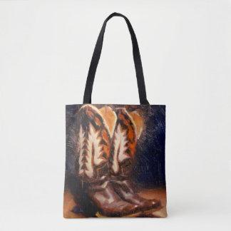 Het Canvas tas van de Laarzen van Cathy