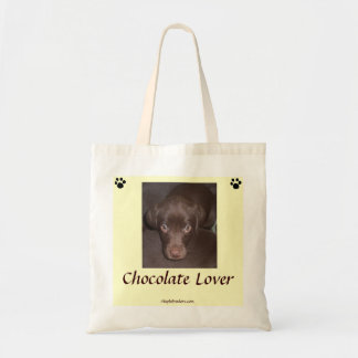 Het Canvas tas van de Minnaar van de chocolade