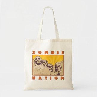 Het Canvas tas van de Natie van de zombie--Het