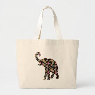 Het Canvas tas van de Olifant van de hippie