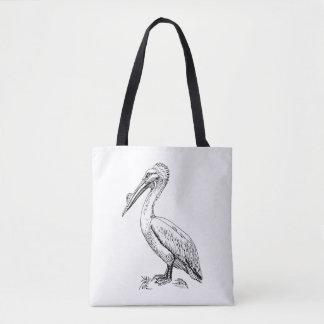 Het Canvas tas van de pelikaan