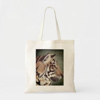 Het Canvas tas van de Tijger van de waterverf