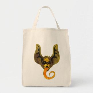Het Canvas tas van de Tong van de knuppel