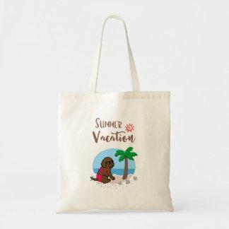 Het Canvas tas van de Vakantie van de Zomer van