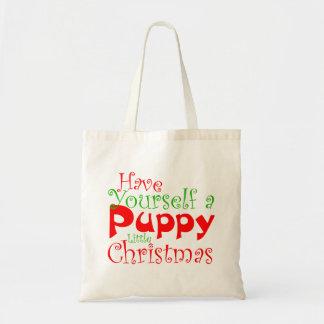 Het Canvas tas van de Vakantie van Kerstmis van