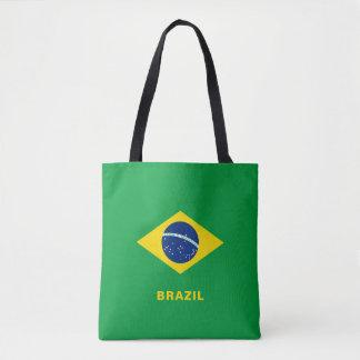 Het Canvas tas van de Vlag van Brazilië