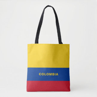 Het Canvas tas van de Vlag van Colombia