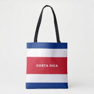 Het Canvas tas van de Vlag van Costa Rica