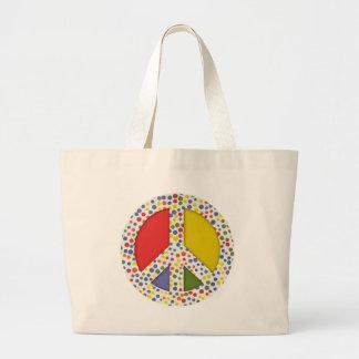 Het Canvas tas van de vrede
