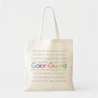 Het Canvas tas van de Wacht van de kleur