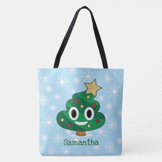 Het Canvas tas van Emoji van het Achterschip van