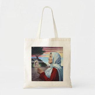 Het Canvas tas van heilige Yolanda