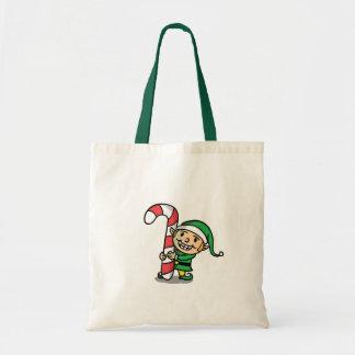 Het Canvas tas van het Elf van Kerstmis