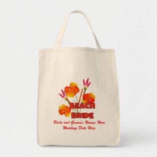Het Canvas tas van het Huwelijk van de Bruid van