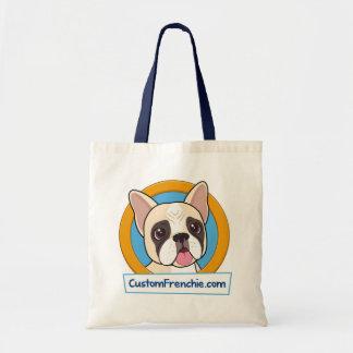 Het Canvas tas van het Logo van Frenchie van de