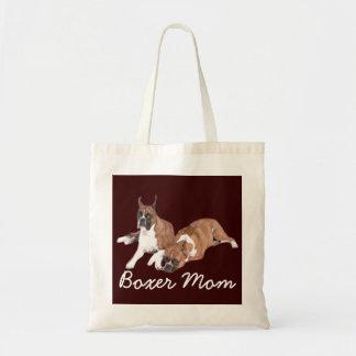 Het Canvas tas van het Mamma van de bokser