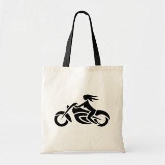 Het Canvas tas van het Meisje van de fietser