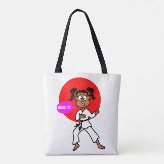 Het Canvas tas van het Meisje van de karate
