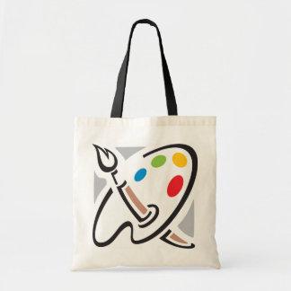 Het Canvas tas van het Palet van schilders
