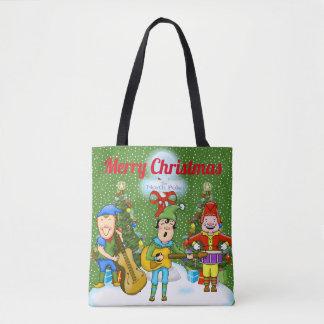 Het Canvas tas van Kerstmis van de Elf van de