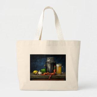 Het Canvas tas van rivierkreeften & van het Bier