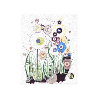 Het canvas van de Braambes van de tuin