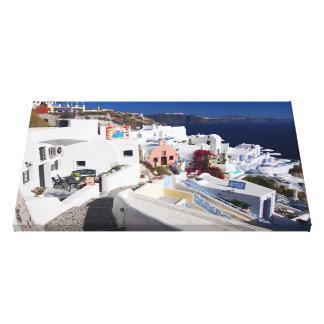 Het Canvas van Santorini