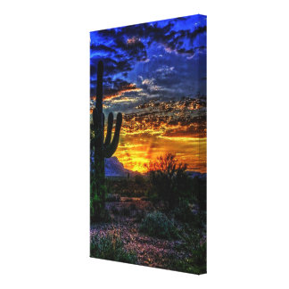 het canvasdruk van de sonoranwoestijn canvas afdrukken