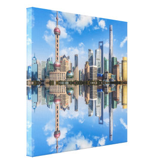 Het canvasdruk van Shanghai Canvas Print
