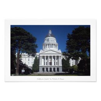"""Het """"Capitool van Californië,"""" Sacramento Fotoafdrukken"""