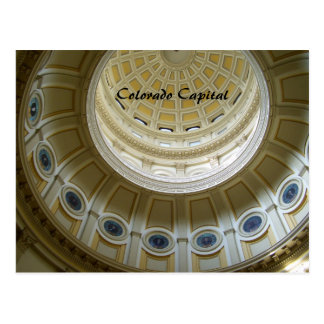 Het Capitool van Colorado Briefkaart