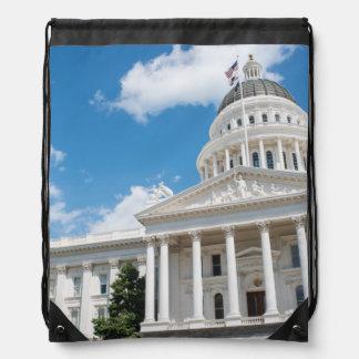 Het Capitool van de Staat van Sacramento van Trekkoord Rugzakje