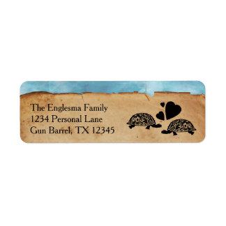 Het Capricieuze Adresetiket van de Schildpad van Etiket